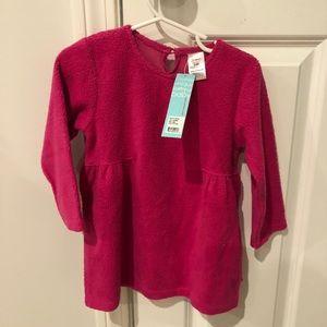 NEW WITH TAGS- Zutano fleece dress